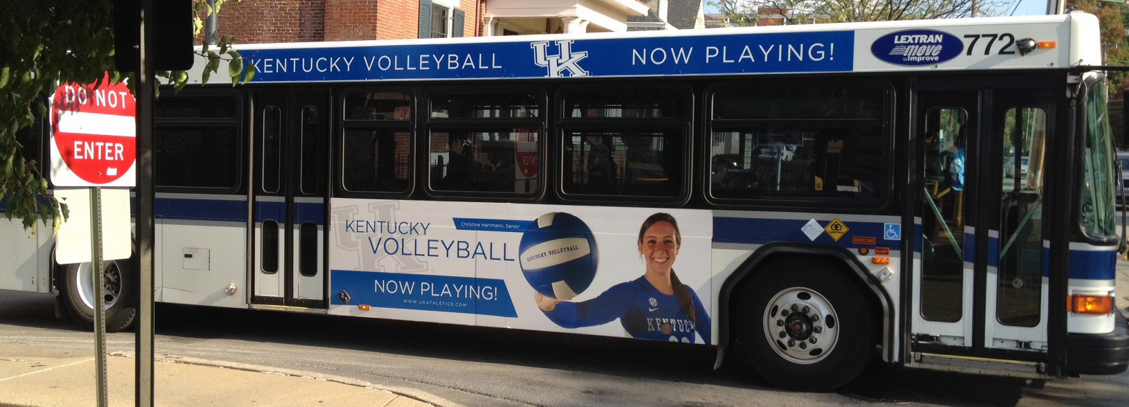 UK Volleyball Minikong Ad