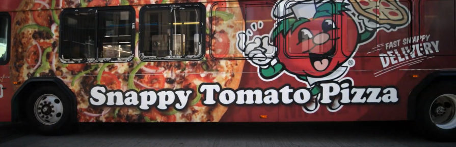 Snappy Tomato Pizza Full Wrap