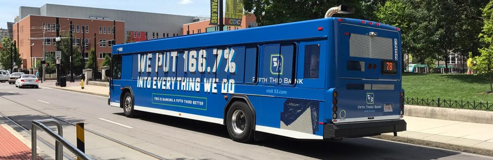 Fifth Third Full Bus Wrap