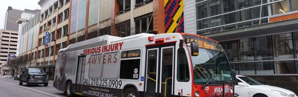 Injury Law Full Bus Wrap